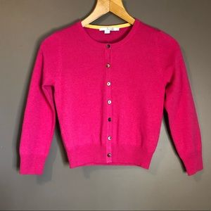 Boden 100% cashmere sweater. Pink.